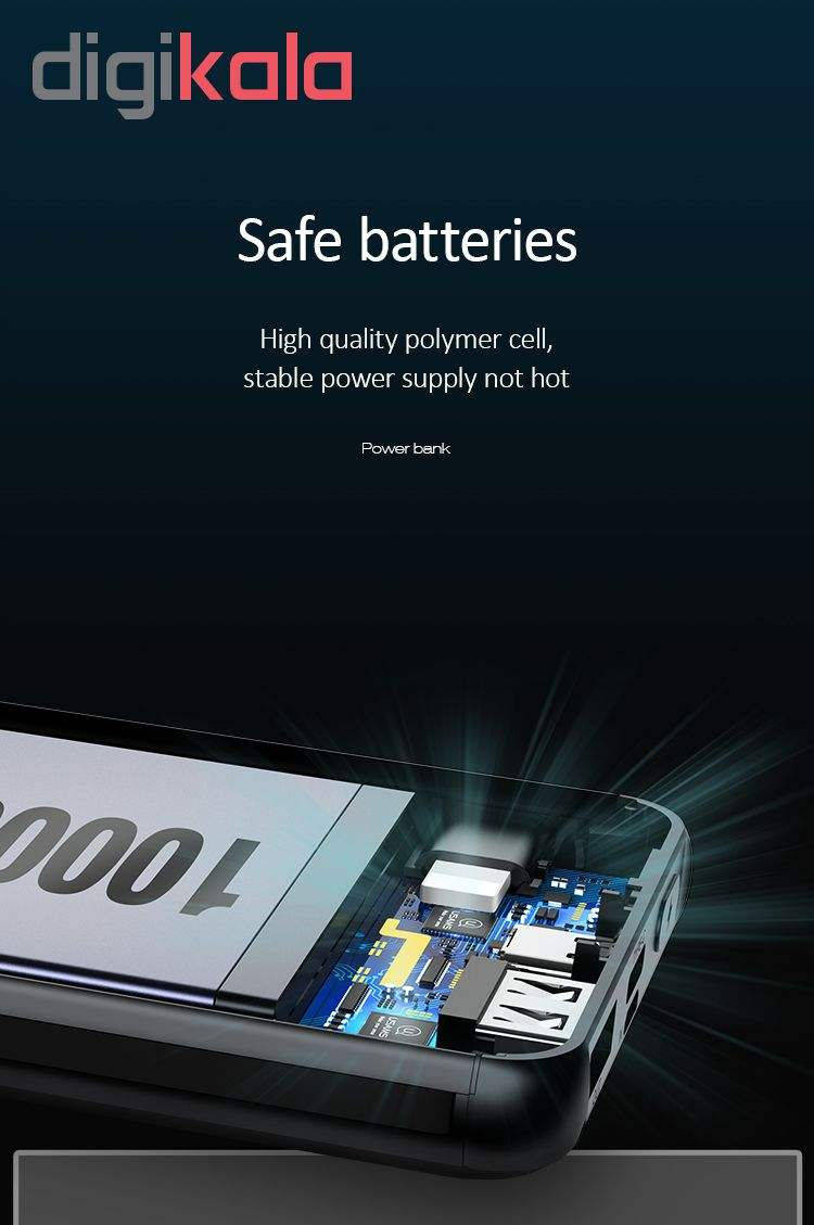 شارژر همراه یوسمز مدل PB13 ظرفیت 10000میلی آمپر ساعت main 1 9