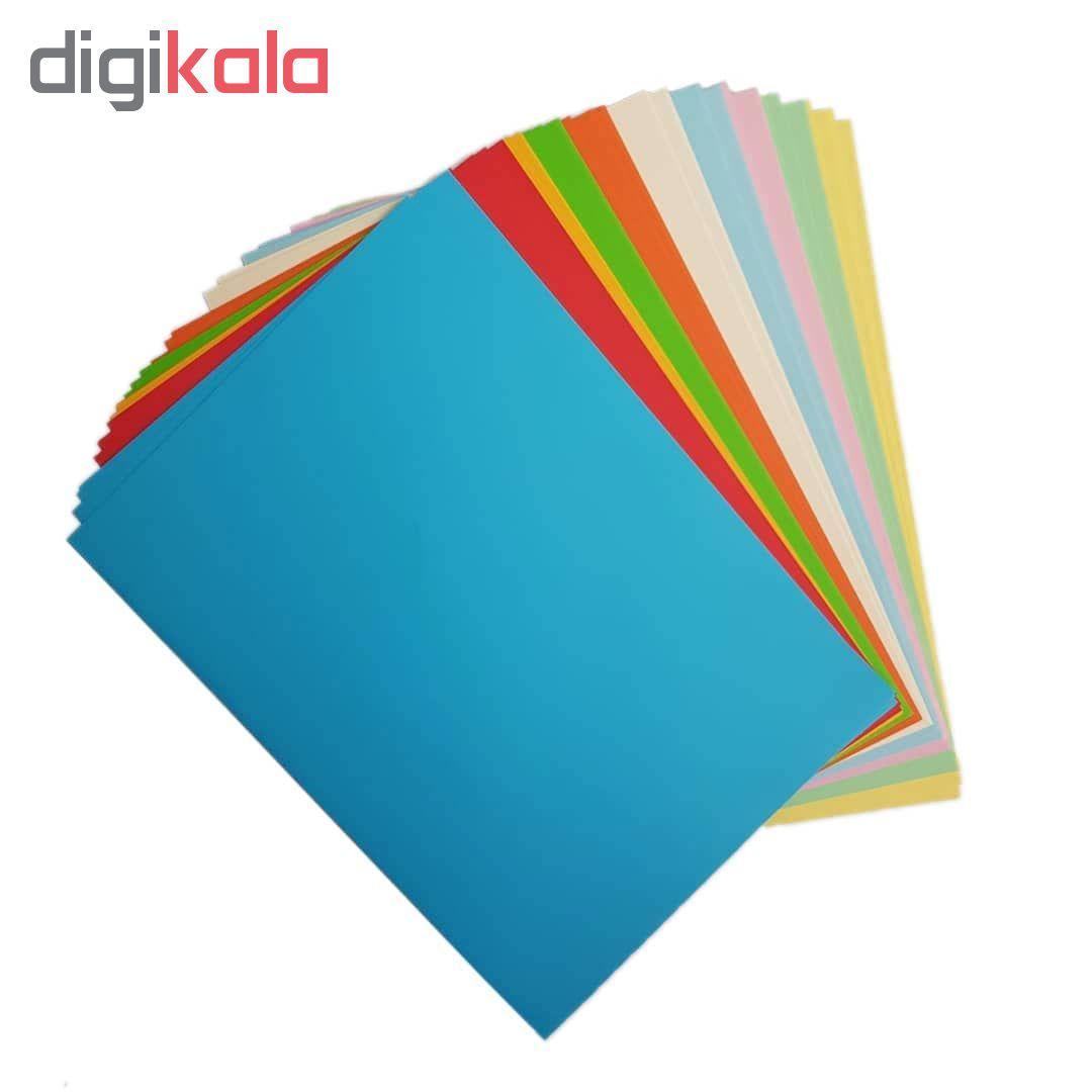 کاغذ رنگی A4 مدل کالرفول کد S10 بسته ۱۰۰ عددی main 1 3
