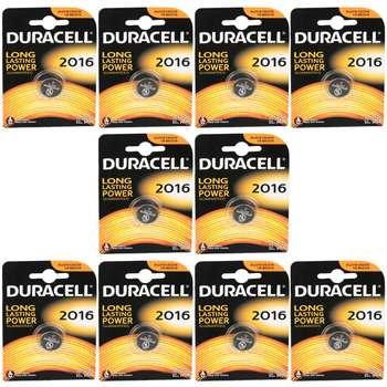 باتری سکه ای دوراسل کد 2016 بسته 10 عددی