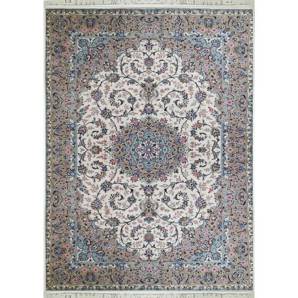 فرش دستبافت شش متری طرح تقدیسی بسته دو عددی