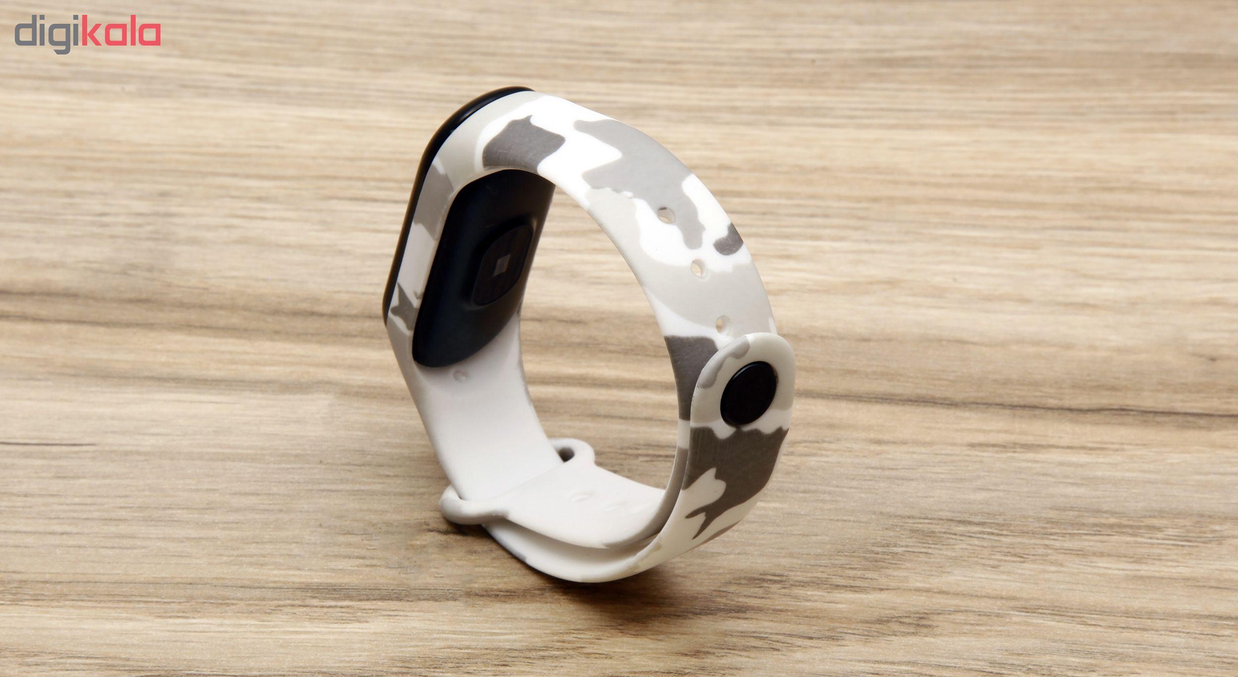 بند سیلیکونی سومگ مدل SMG-8 مناسب برای مچ بند هوشمند شیائومی Mi Band 3 و M3 main 1 11