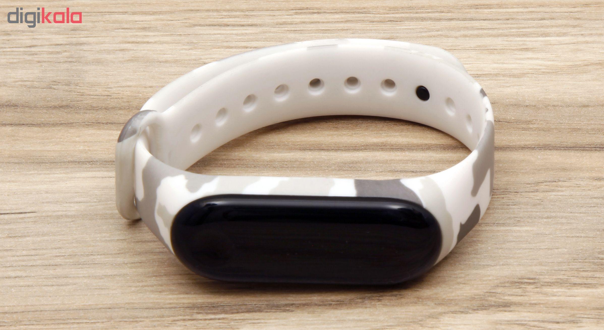 بند سیلیکونی سومگ مدل SMG-8 مناسب برای مچ بند هوشمند شیائومی Mi Band 3 و M3 main 1 14