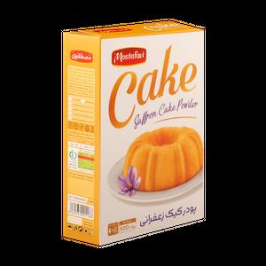 پودر کیک زعفرانی مصطفوی مقدار 500 گرم