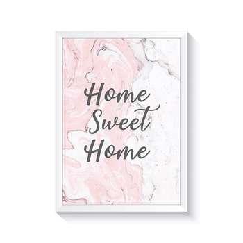 تابلو وینا مدل 0001 Home Sweet Home