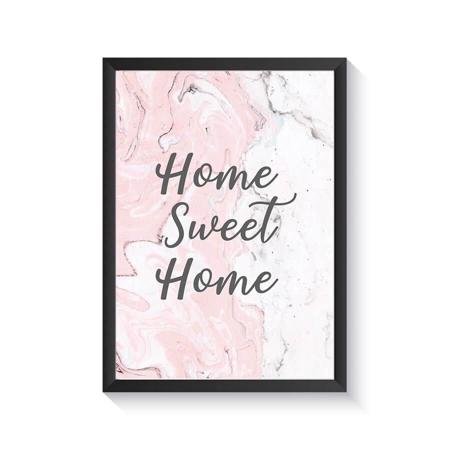 تابلو وینا مدل Home Sweet Home II