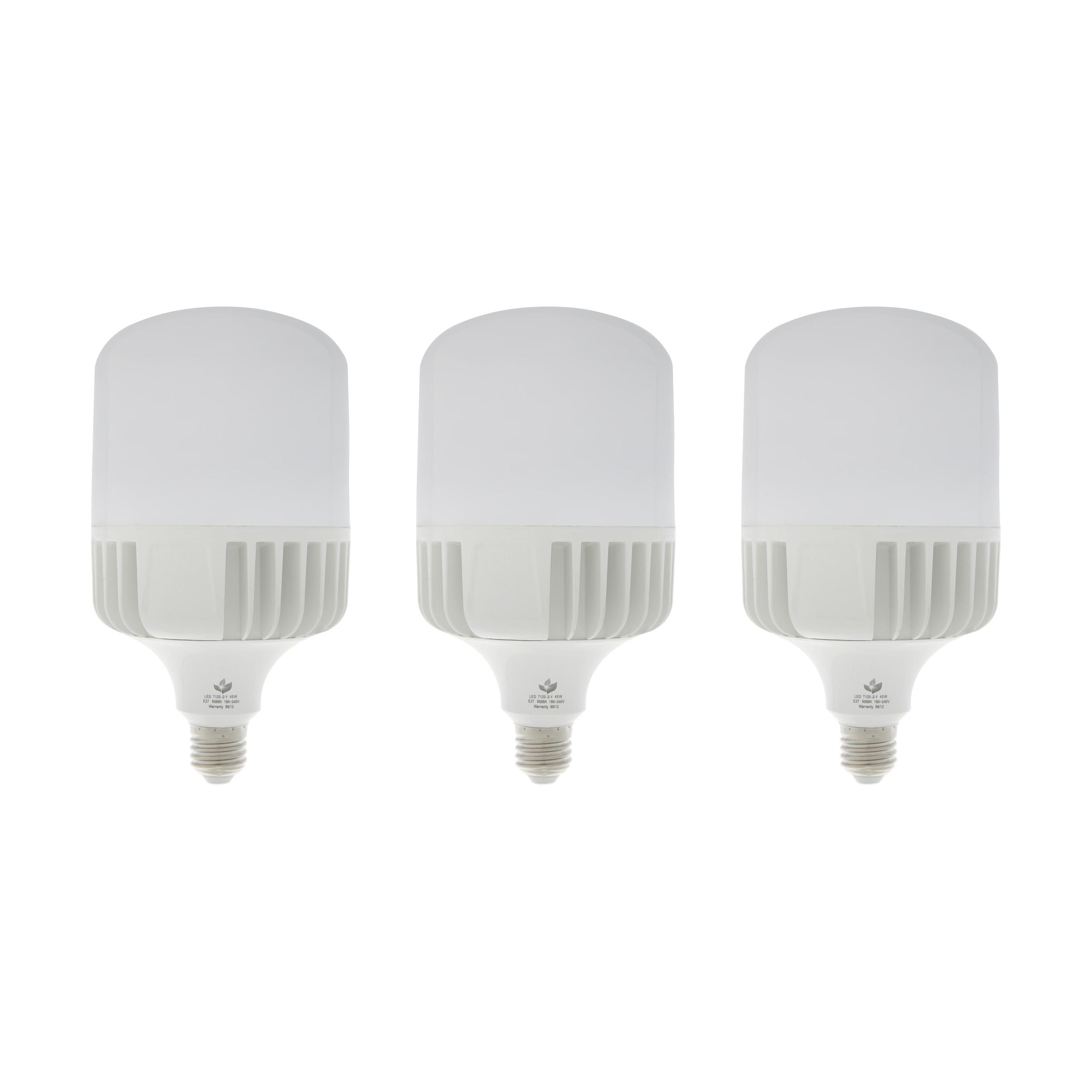لامپ ال ای دی 30 وات آینده مدل AU پایه E27 بسته 3 عددی