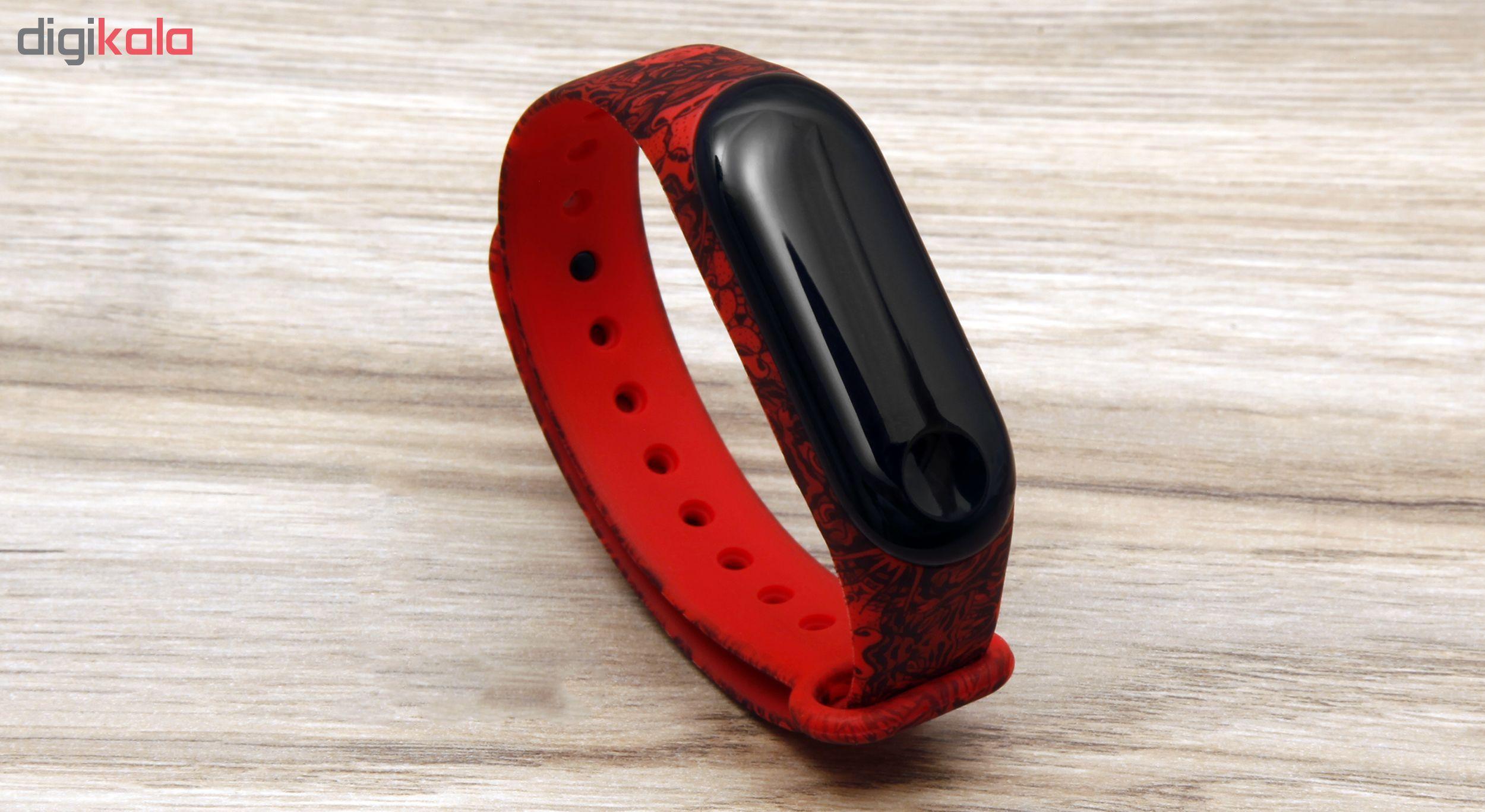 بند مچ بند هوشمند سومگ مدل  SMG-4 مناسب برای مچ بند هوشمند شیائومی Mi Band 3 و M3 main 1 4