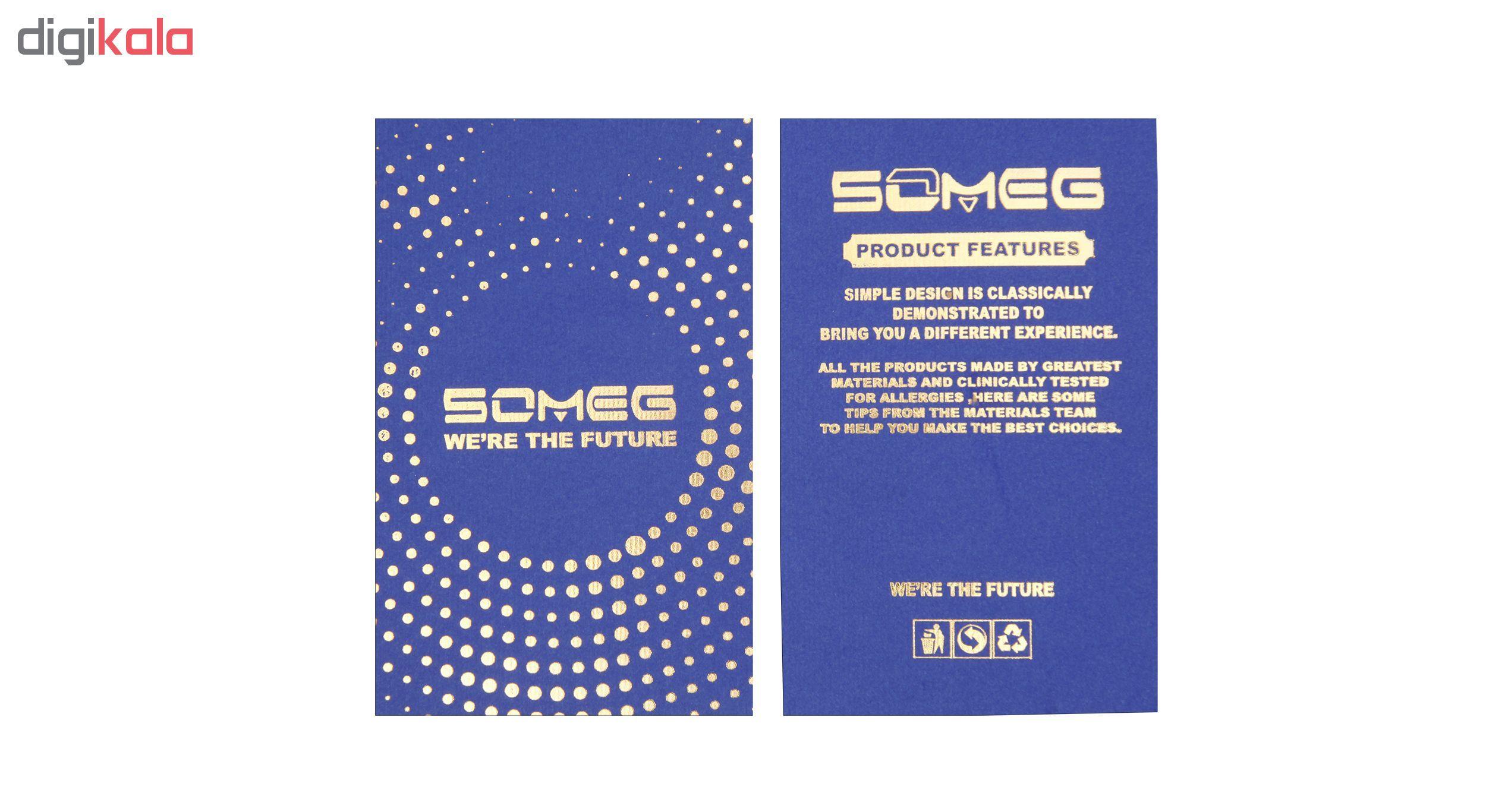 بند مچ بند هوشمند سومگ مدل  SMG-4 مناسب برای مچ بند هوشمند شیائومی Mi Band 3 و M3 main 1 6