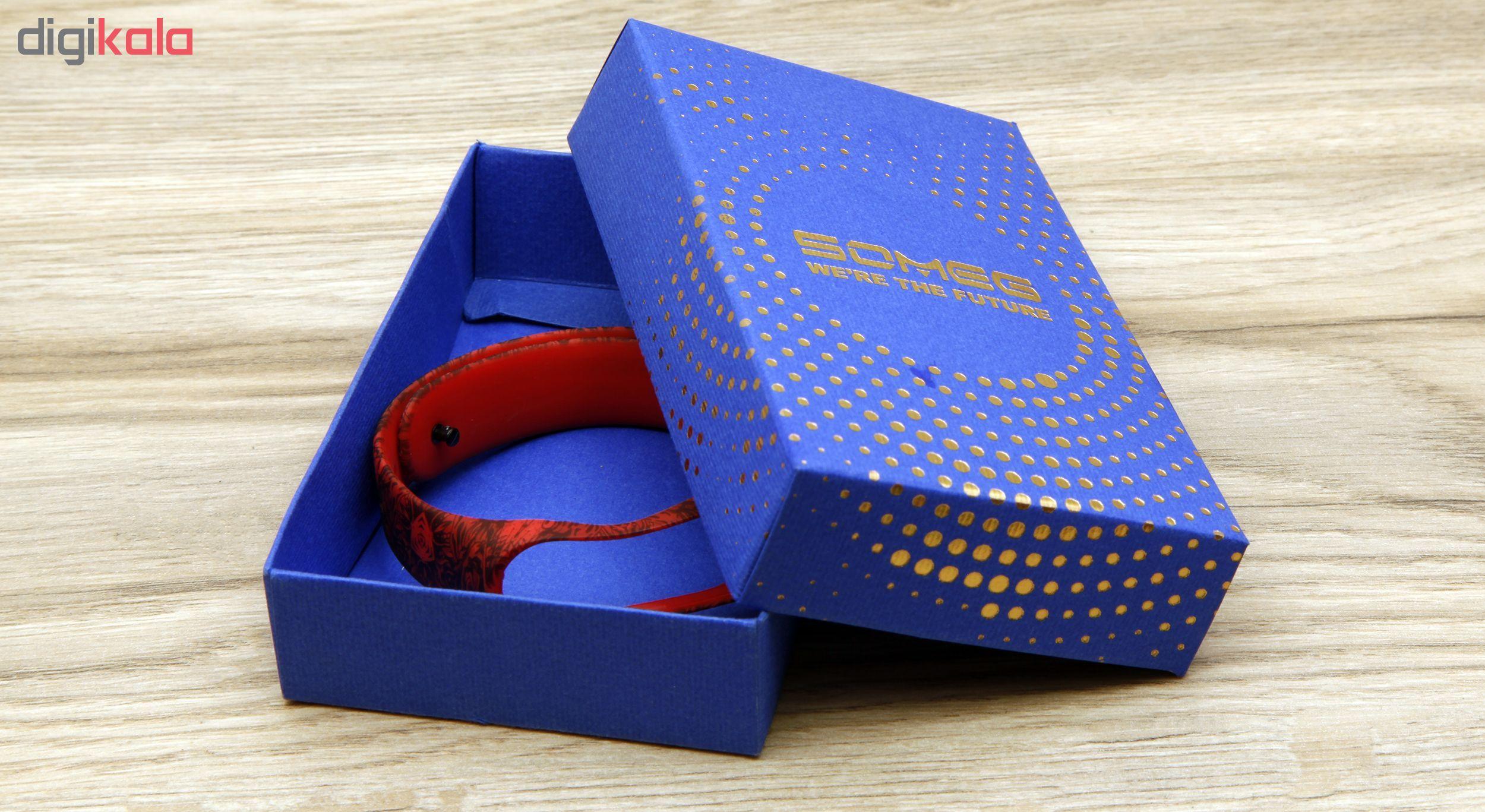 بند مچ بند هوشمند سومگ مدل  SMG-4 مناسب برای مچ بند هوشمند شیائومی Mi Band 3 و M3 main 1 7