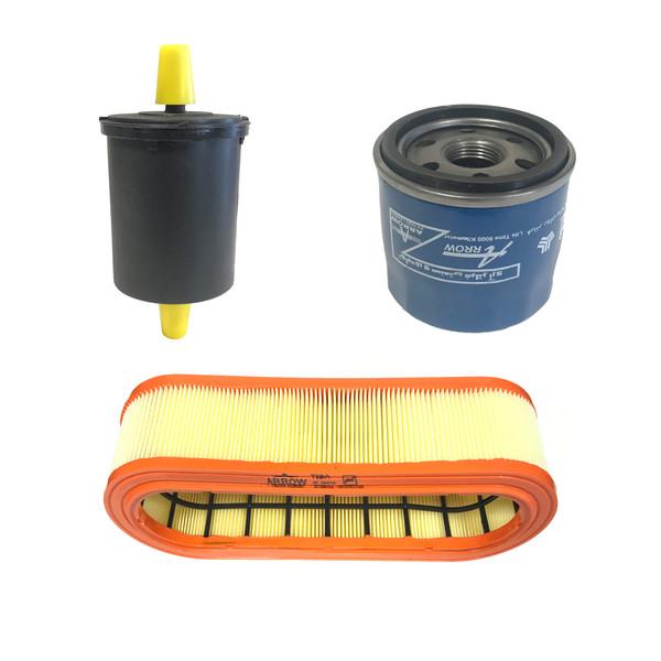 فیلتر روغن خودرو آرو کد 54545 ناسب برای تیبا و ساینا به همراه فیلتر هوا و فیلتر سوخت