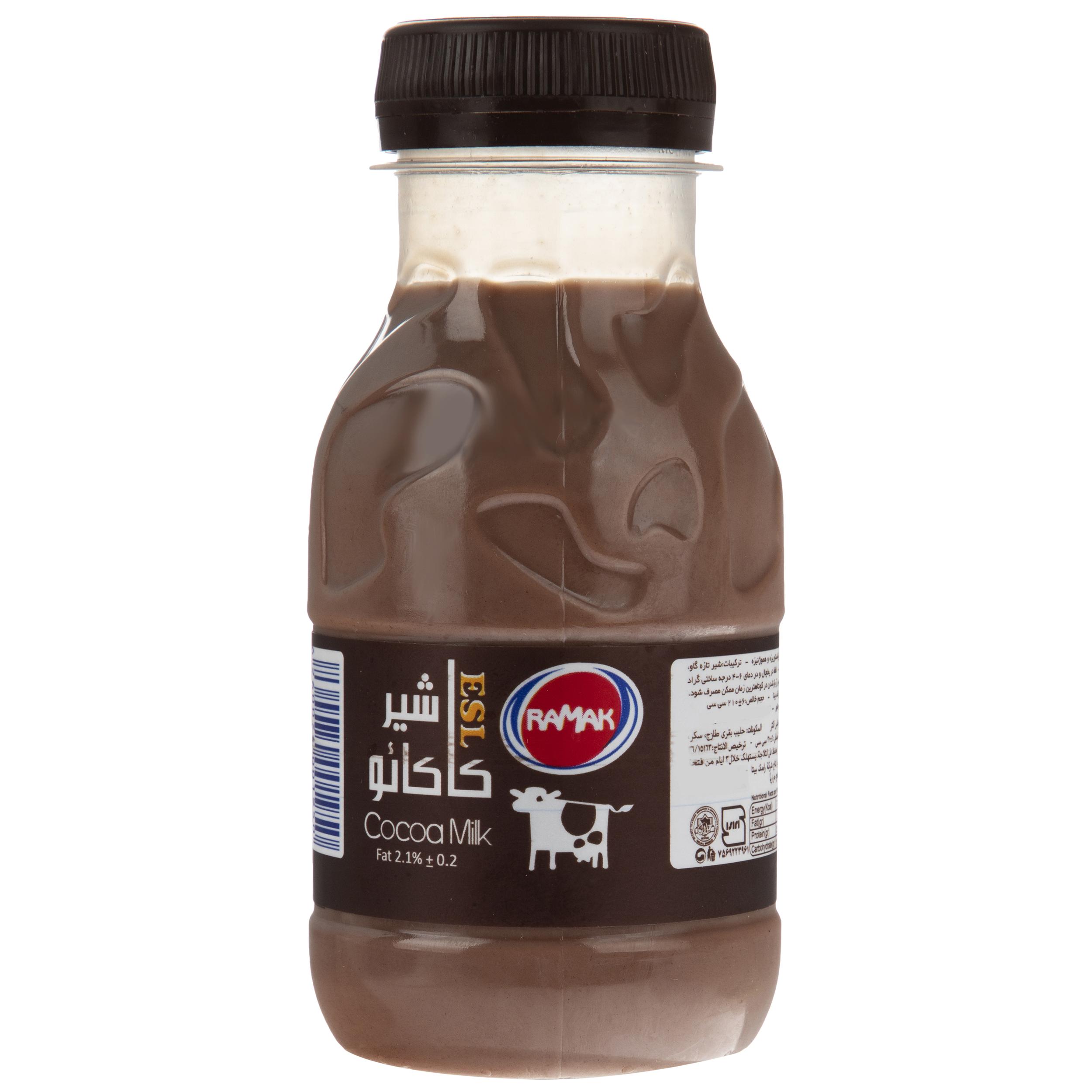 شیر کاکائو رامک حجم 210 میلی لیتر