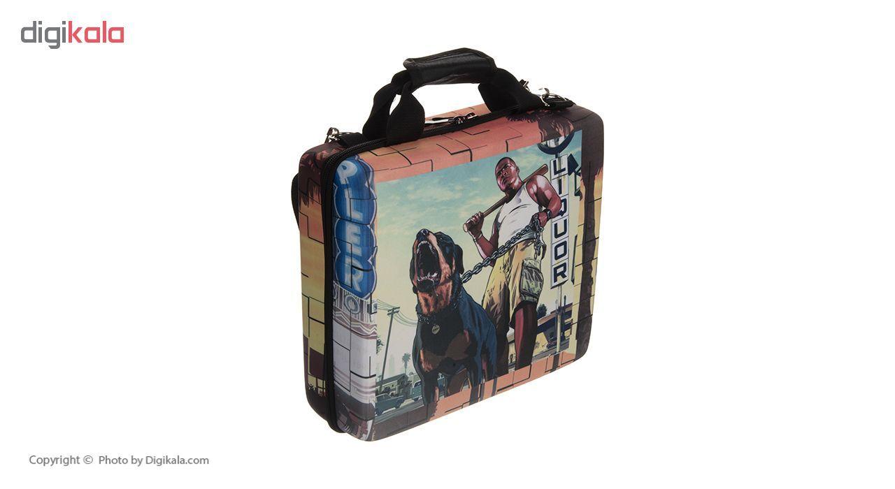 کیف حمل مدل Grand Theft Auto مناسب برای PlayStation 4 Slim
