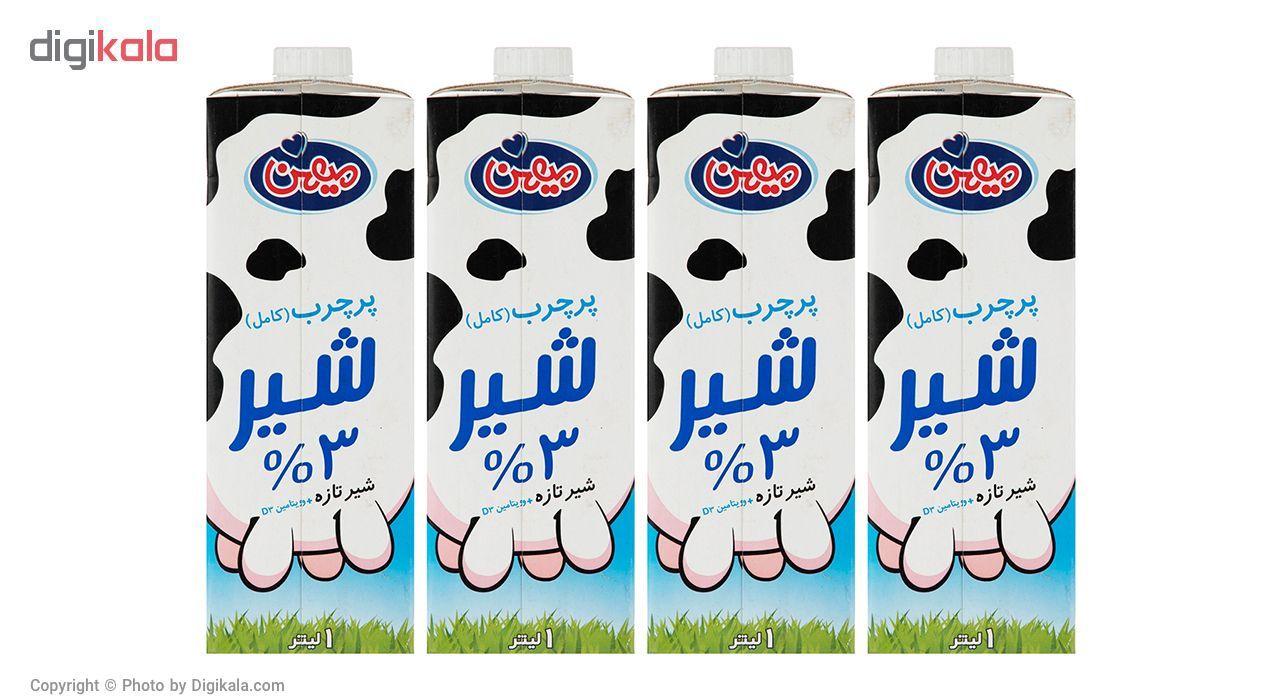 شیر پر چرب میهن حجم 1 لیتر بسته 4 عددی main 1 1