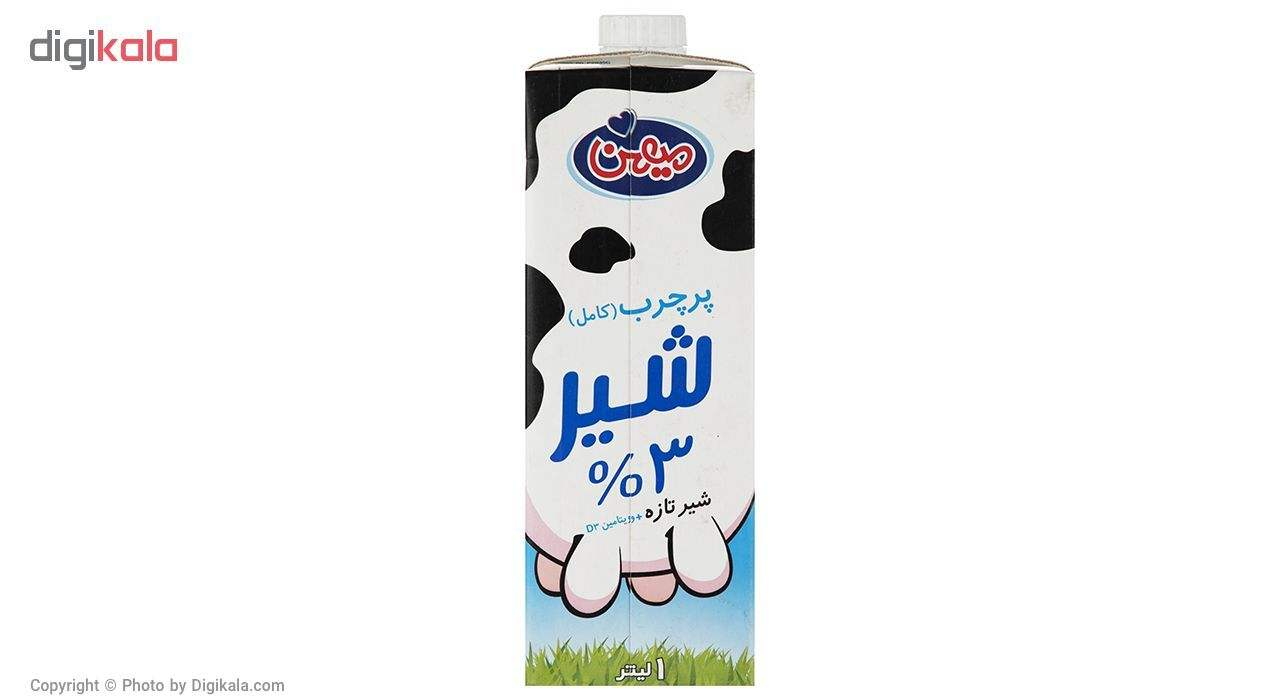شیر پر چرب میهن حجم 1 لیتر بسته 4 عددی main 1 2
