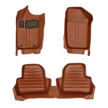 کفپوش سه بعدی خودرو اچ اف کی مدل HS110210 مناسب برای پژو 206