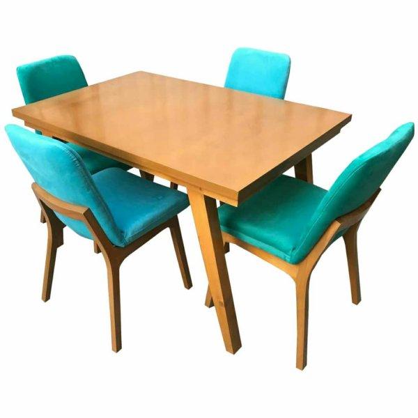 میز و صندلی نهار خوری مدل perto کد ۴۰۹۰