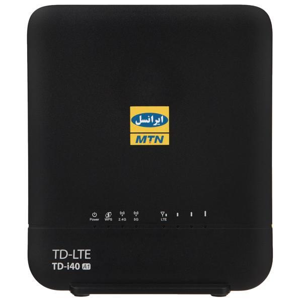 مودم TD-LTE ایرانسل مدل TD-i40 A1 به همراه 24 گیگابایت اینترنت 3 ماهه