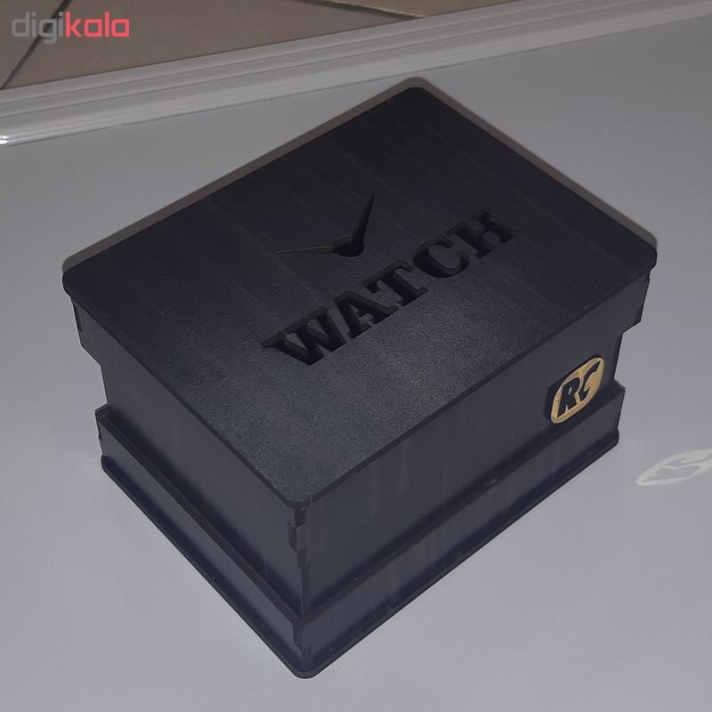 جعبه ساعت آرسی طرح عقربه