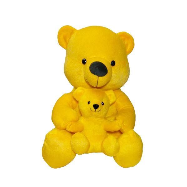 عروسک طرح خرس بچه بغل ارتفاع 32 سانتی متر