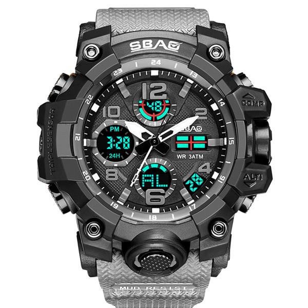 ساعت مچی عقربه ای مردانه اِسباُ مدل 8005e-GR رنگ طوسی