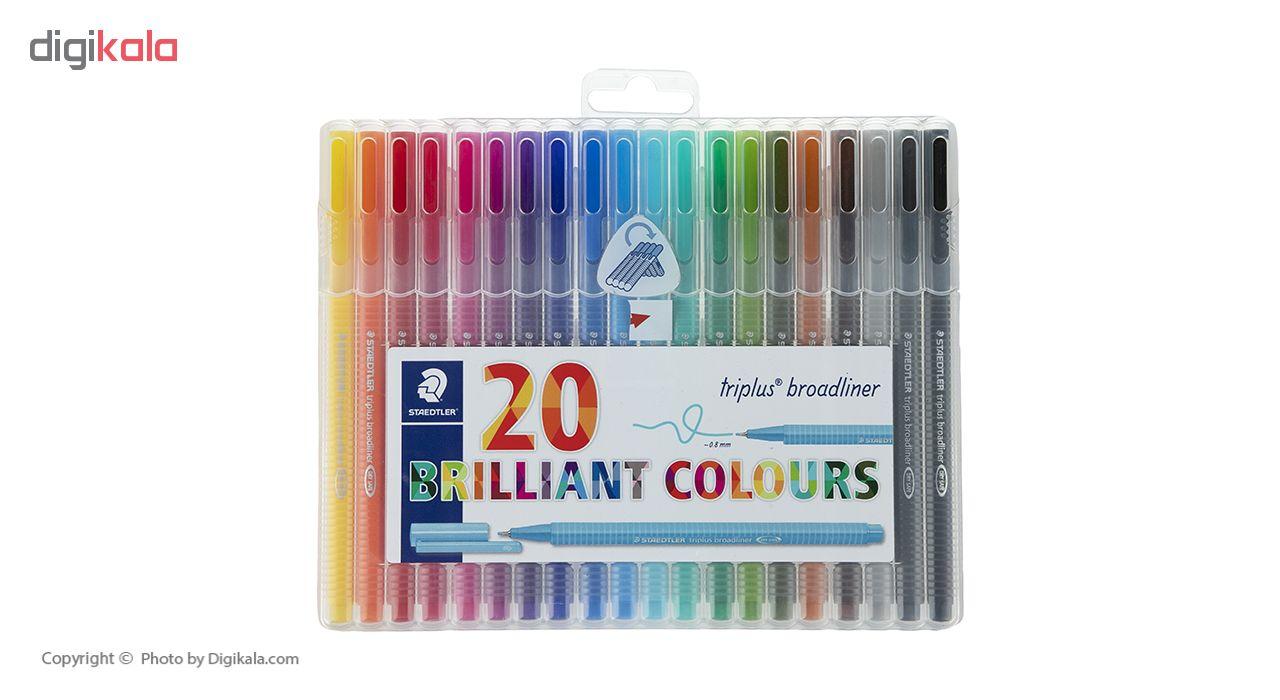 قیمت خرید روان نویس 20 رنگ استدلر مدل 338SB20 اورجینال