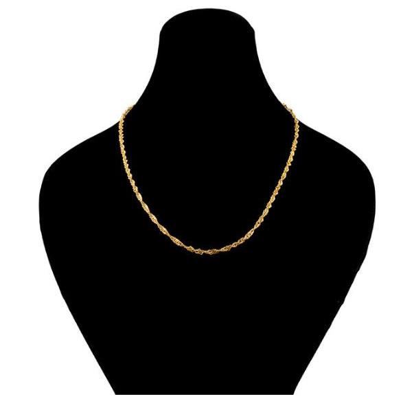 قیمت زنجیر طلا 18عیار زنانه الن نار مدل EL199
