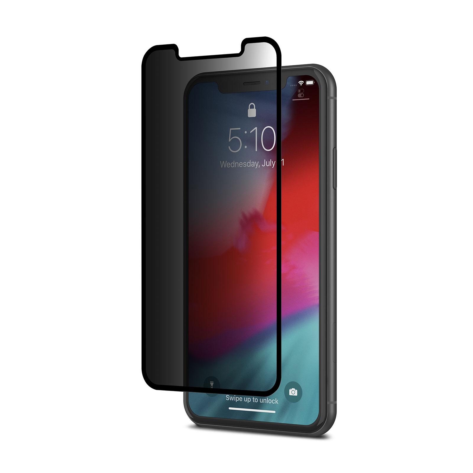محافظ صفحه نمایش حریم شخصی موشی مدل ion مناسب برای گوشی موبایل اپل iPhone XR