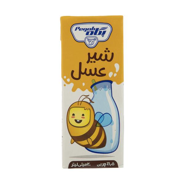 شیر عسل پگاه مقدار 0.2 لیتر