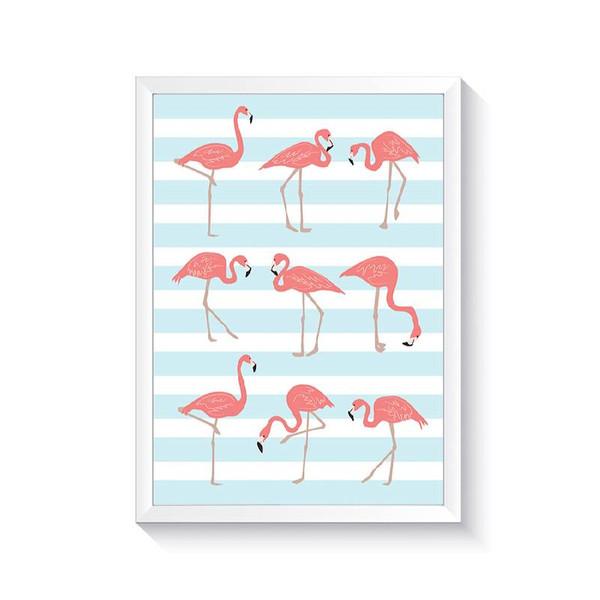تابلو وینا مدل Flamingo
