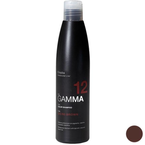 شامپو رنگ مو ارایبا مدل گاما شماره 60 حجم 250 میلی لیتر رنگ قهوه ای