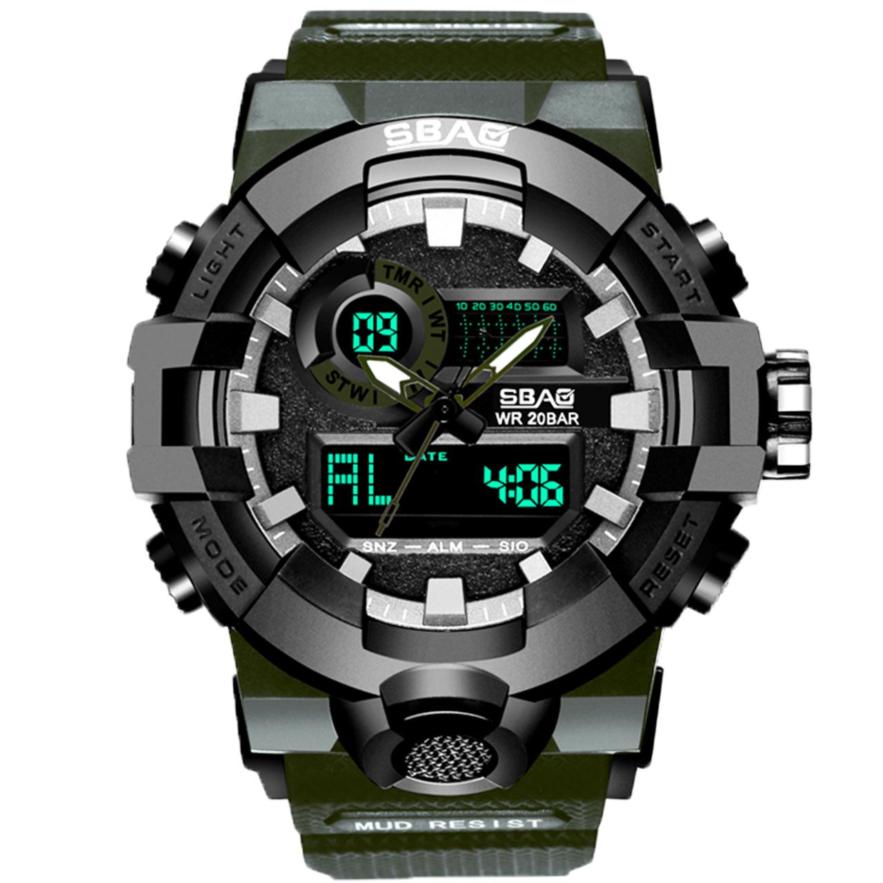 کد تخفیف                                      ساعت مچی عقربه ای مردانه اِسباُ مدل 8018MG