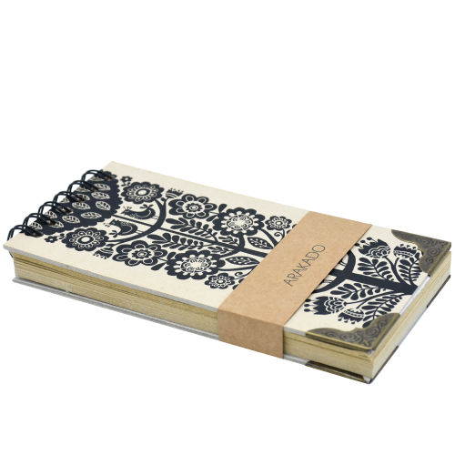 دفتر یادداشت آراکادو مدل پالتویی کد 8