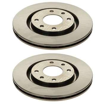 تصویر دیسک ترمز چرخ جلو ایساکو کد 2905 مناسب برای پژو 405 و پارس و سمند
