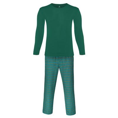 تصویر ست تی شرت و شلوار مردانه ساروک مدل KE رنگ سبز