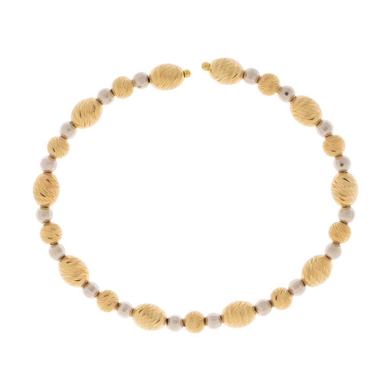 دستبند طلا ۱۸ عیار زنانه کد ۰۰۶
