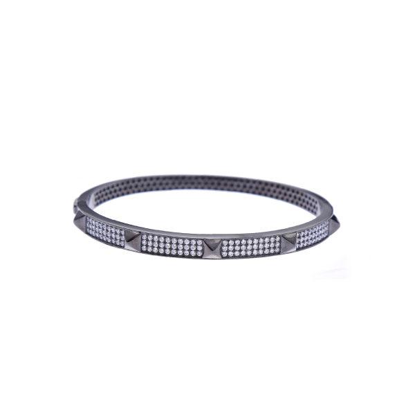 دستبند نقره زنانه هلیسا کد MHR081