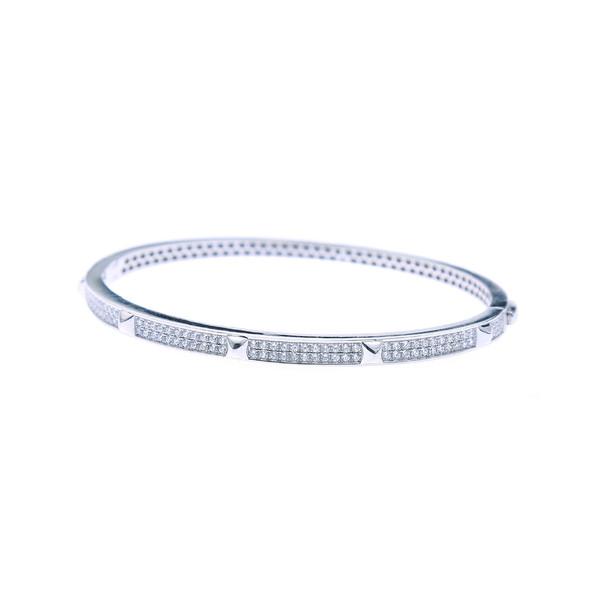 دستبند نقره زنانه هلیسا کد MHB086