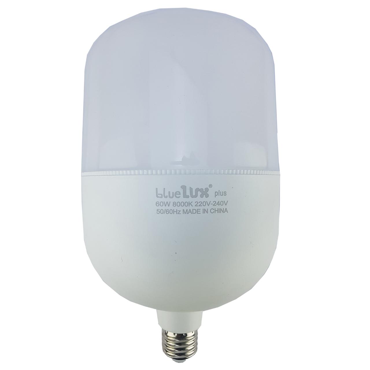 لامپ ال ای دی 60 وات بلو لوکس پلاس مدل T135 پایه E27