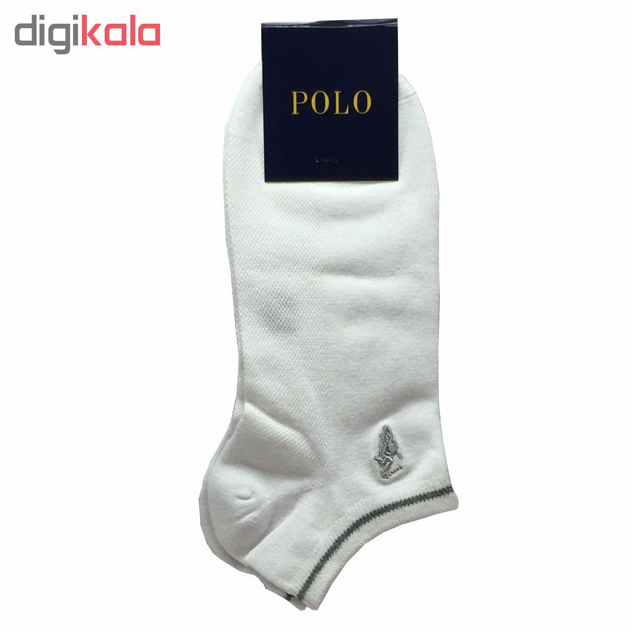 جوراب مردانه کد p5 مجموعه 5 عددی