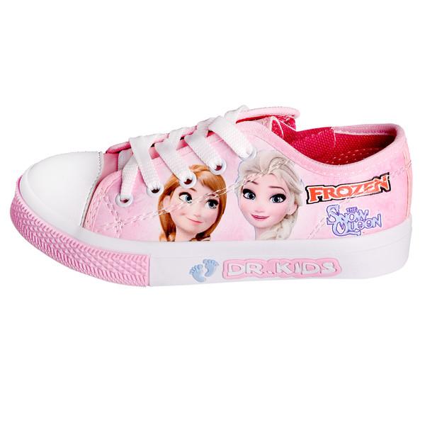کفش دخترانه رشد مدل فروزن کد 3477 رنگ صورتی