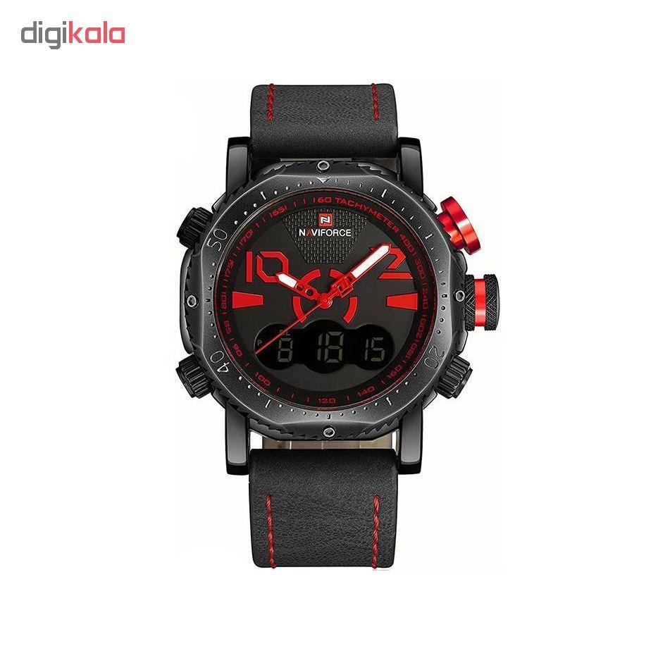 کد تخفیف                                      ساعت مچی عقربه ای مردانه نیوی فورس مدل NF9094M-ME-GHER
