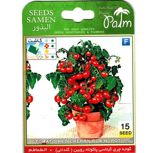 بذر گوجه گیلاسی پالم کد 41 بسته 15 عددی