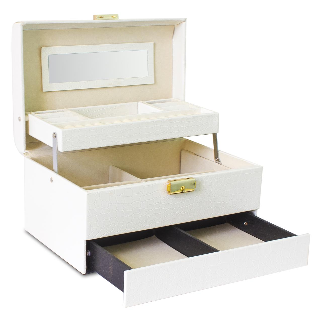 قیمت جعبه لوازم آرایش و زیورآلات مدل B104
