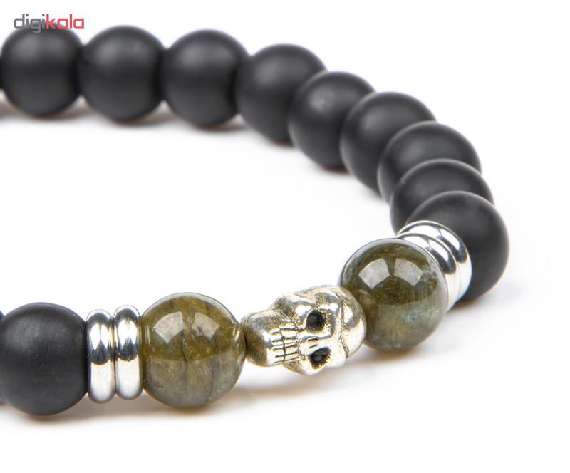 دستبند مردانه ریسه گالری مدل Ri3-O1156-B