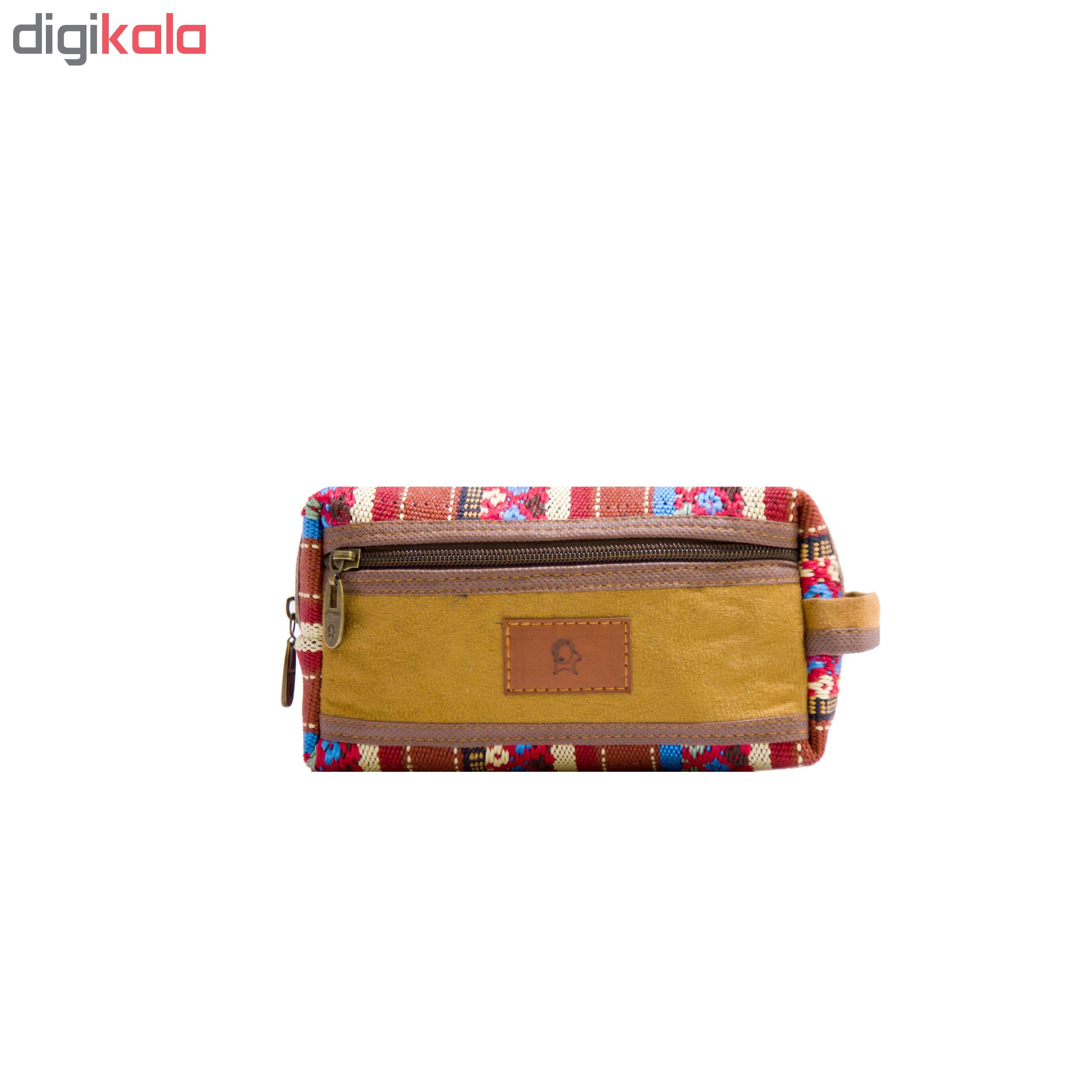 کیف لوازم آرایش دوراونتاش مدل minooB 875543