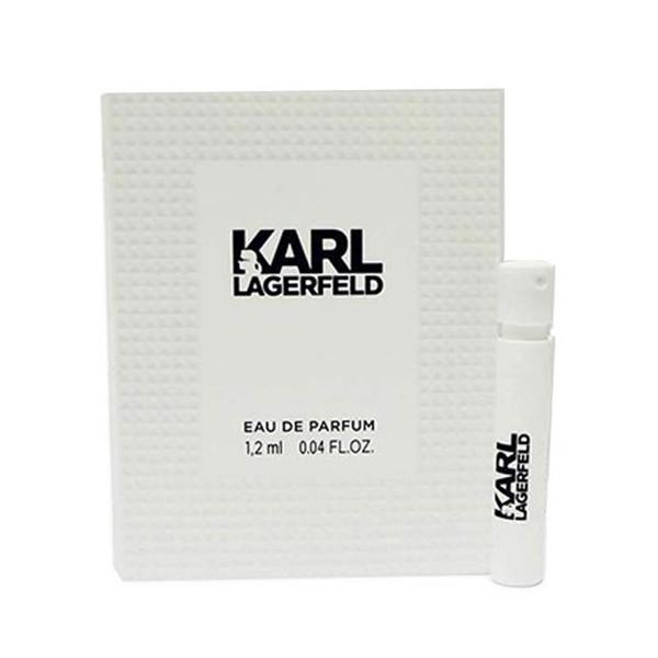 عطر جیبی زنانه کارل لاگرفلد مدل KARL حجم 1.2 میلی لیتر