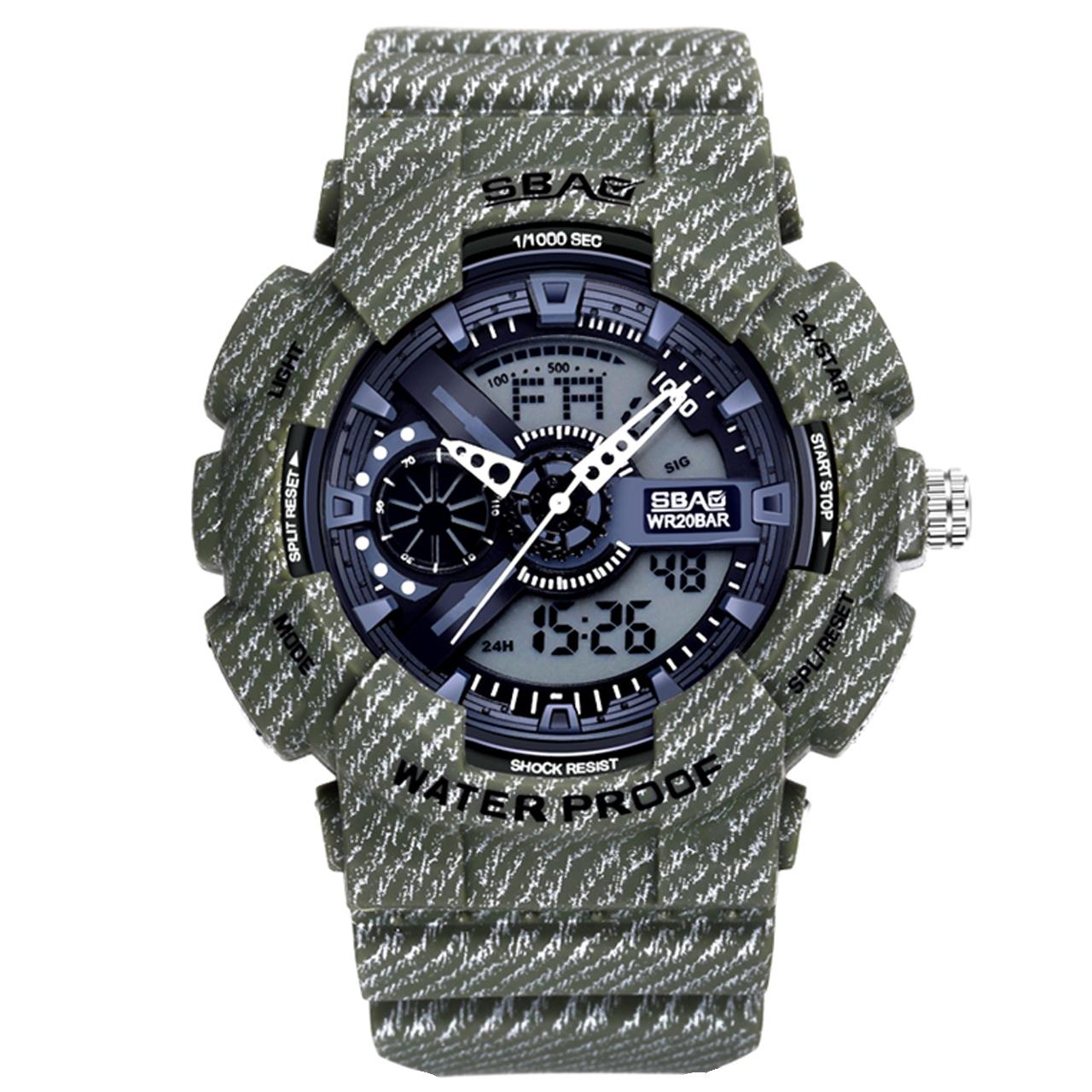 کد تخفیف                                      ساعت مچی عقربه ای مردانه اِسباُ مدل 8017G-3
