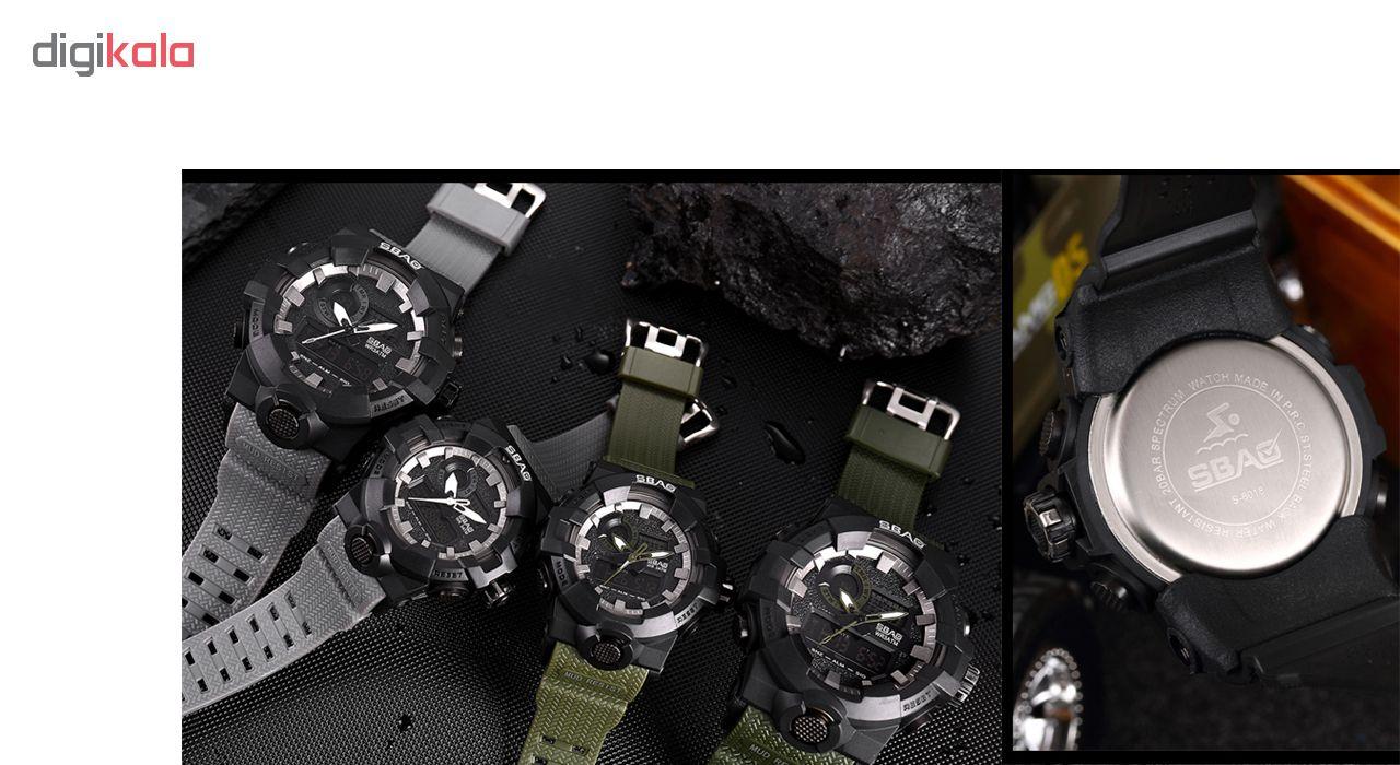 ساعت مچی  مردانه اِسباُ مدل 8018MGR              اصل
