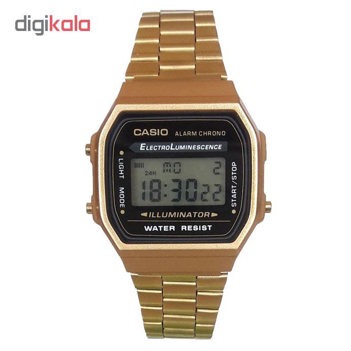 ساعت مچی دیجیتال مردانه مدل A168W -1572 / TA-TA