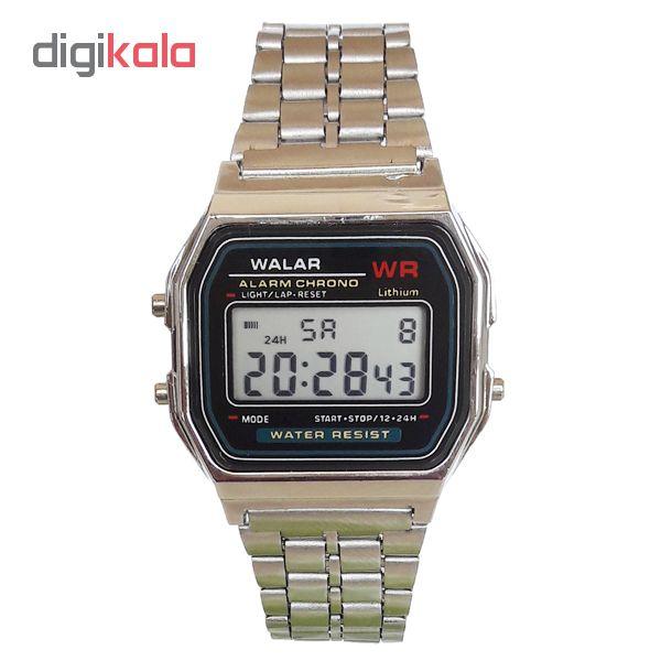 خرید اینترنتی ساعت مچی دیجیتال مردانه والار مدل A159WA - WG 0247 / NO اورجینال